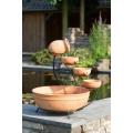 Terracotta Watervalelement Large